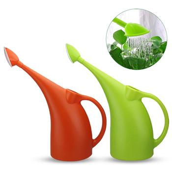 3L Long Mouth Watering Pot Green Plant Pot Watering Gardening Tool Watering Flower Watering Can Plastic Small Watering Can image