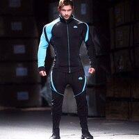 2017 Muscle Men's Fitness Casual Cotton Pants Fashion New Brand Autumn Bodybuilding Gyms Pants Slim Fit Trousers Pencil Pants