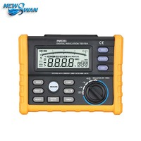 OFFCIAL Analog and Digital 1000V MS5203 Insulation Resistance Tester megger meter 0.01~10G Ohm with Multimeter