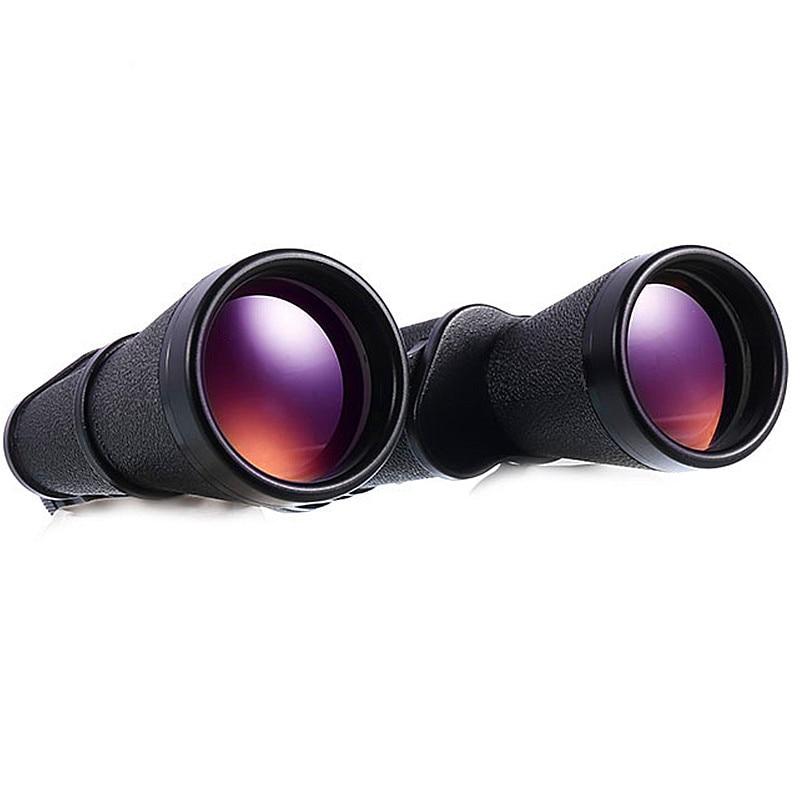 High Quality Teleskop Baigish 15x60 Russian Military Binoculars HD Eyepiece Zoom Power LLL Night Vision Not Infrared Telescope