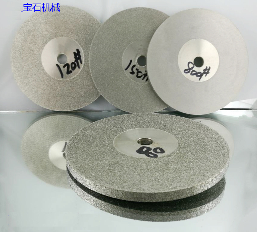 Diamond Disk 45-1000 Grit Grain Lapidary  100mm Diamond Grinding Disc  Wheel Rotary Rotary Abrasive Tools Gold/Silver