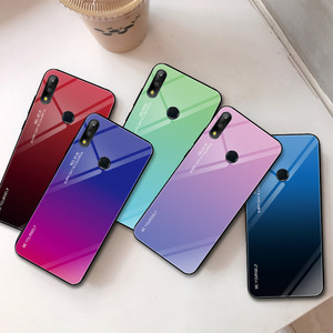 Image 4 - Gradient Tempered Glass Case For Asus Zenfone Max (M2) ZB633KL For Asus Zenfone Max Pro (M2) ZB631KL Max Pro (M1) ZB601KL ZB602K