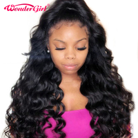 Remy Hair Peruvian Body Wave 360 Lace Frontal Wig Pre Plucked With Baby Hair Lace Front Human Hair Wigs Lace Wig Wonder girl