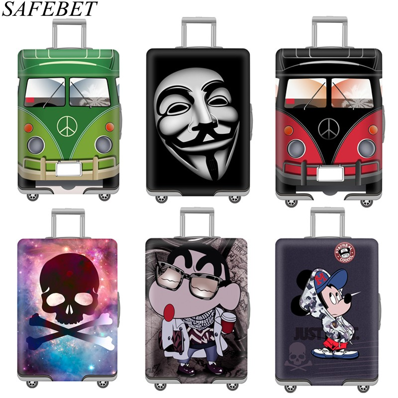 SAFEBET Protective-Cover Suitcase Luggage Necessity Trolley Elastic Travel Thicken
