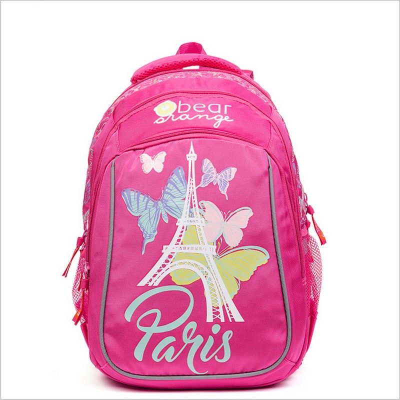Kids Cute SchoolBags for Children Orthopedic School Backpack for Girls Waterproof schoolbag for Grade 1-4