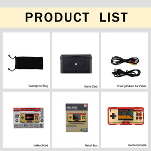 """Image 4 - Coolbaby RS 20A 3.0"""" Retro Handheld Game Player childrens video game Console Built in 638 Games Support 2 Players TV Output"""