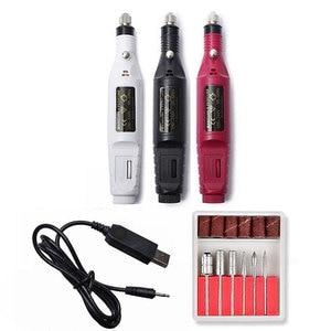 1Set USB Electric Nail Drill M