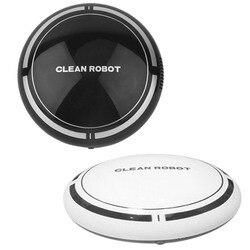 2 In 1 Rechargeable Floor Sweeping Robot Dust Catcher Intelligent Auto-Induction Floor Sweeping Robot Vacuum Cleaner