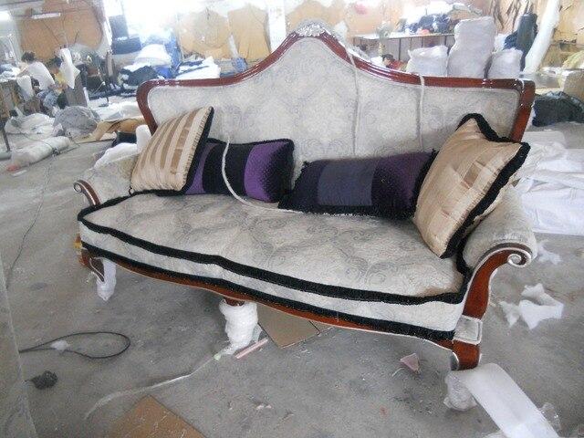 Leinen Sofa Stuhl Wohnzimmer Mbel Couch Samt Tuch Sthle Stoff 3 Sitzer