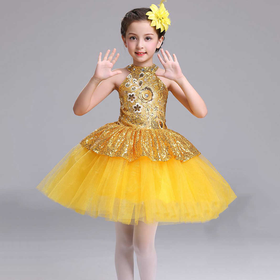 52f96cc72ab66 ... Children Fashion Flower Girl Tulle Dress Evening Short Frocks Design  Pageant Ball Gowns for Girls Easter ...