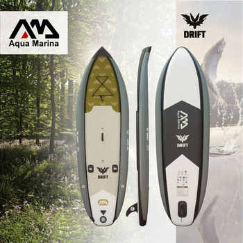 AQUA MARINA 330*97*15cm DRIFT inflatable sup board stand up paddle board, fishing SUP board surfing board with incubator A01010