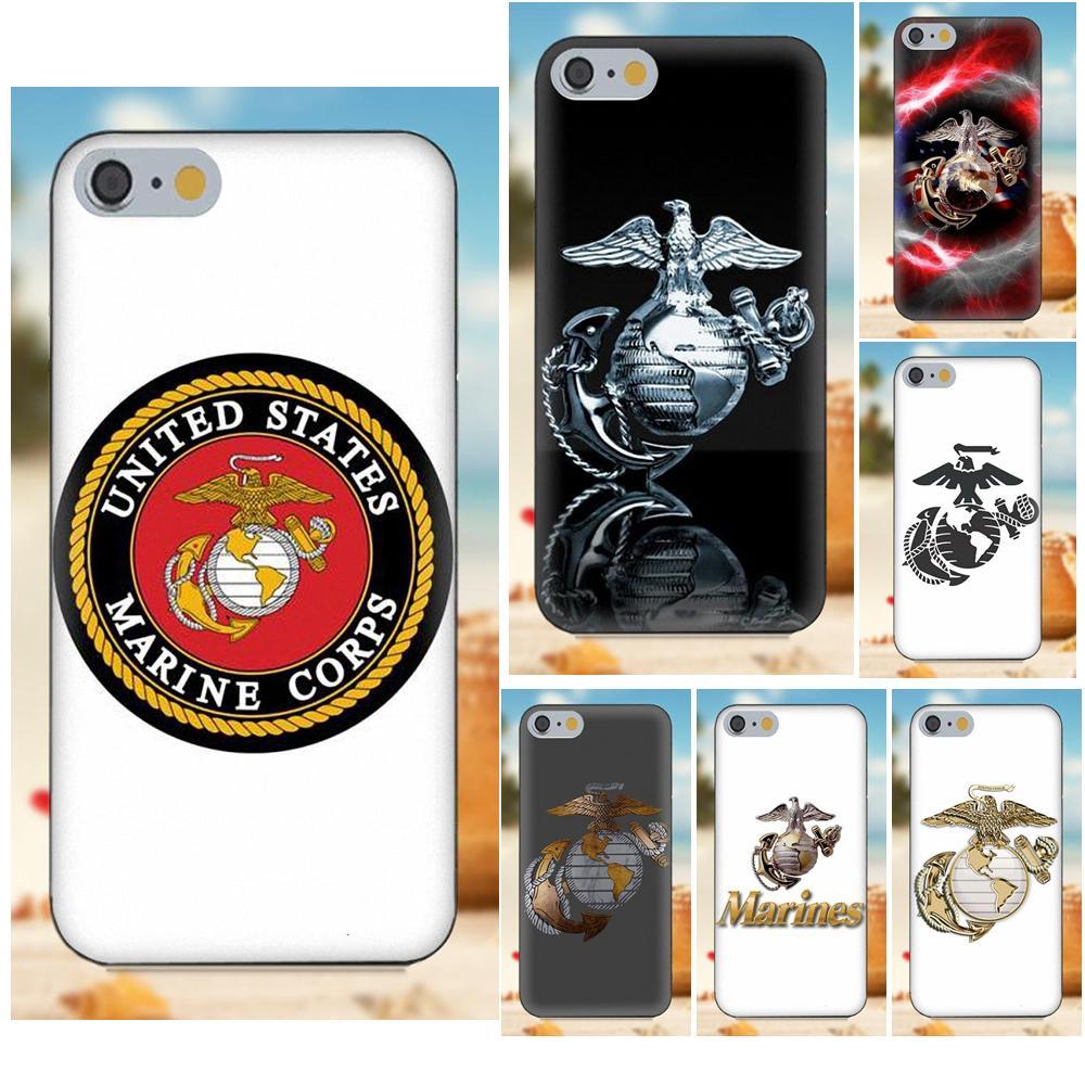 For Xiaomi Redmi 5 4A 3 3S Pro Mi4 Mi4i Mi5 Mi5S Mi Max Mix 2 Note 3 4 Plus Soft TPU New Style United States Marines Corps Logo