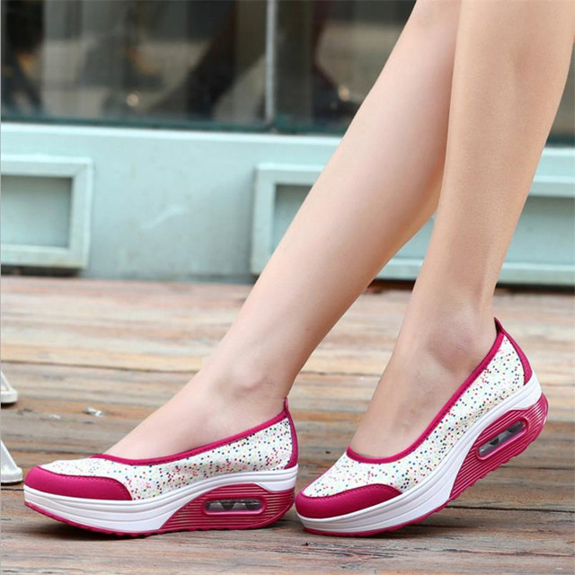 2019 Summer new Women's thick-soled shoes shake fashion casual Shake shoes thick bottom sponge cake single cushion shoes s012 4
