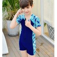 Rhyme Lady Summer Trunks Baby Swimsuit Animals Boy Swimwear Bathing suit Children Beachwear Bodysuit One Piece