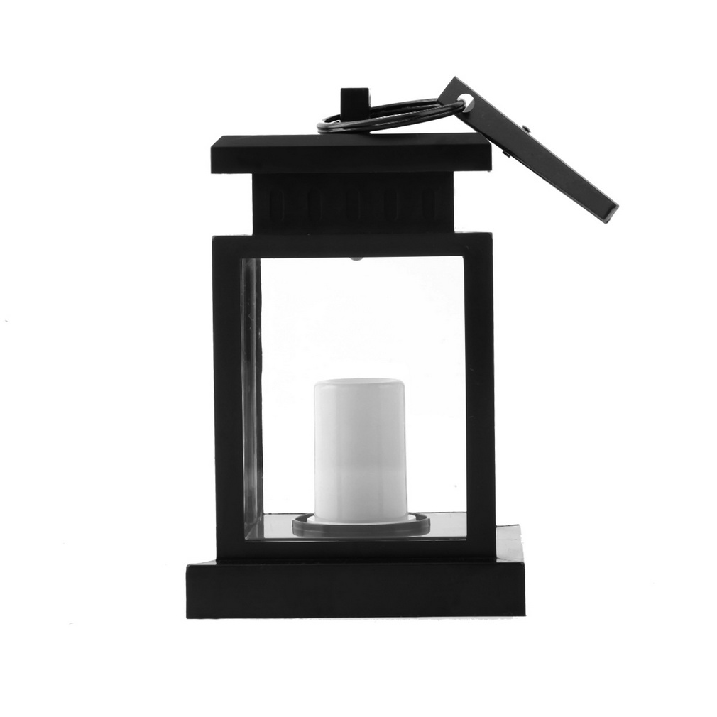 -m25 Delicacies Loved By All Outdoor Candle Lantern Solar Powered Light Garden Yard Wall Landscape Lamp Lights & Lighting