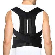 Aptoco Posture Corrector Shoulder Lumbar Brace Spine Support Belt Adjustable Adu