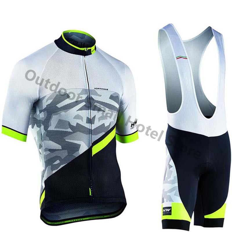 Ropa Ciclismo NW 2019 Summer Men Pro Cycling Jerseys Set Triathlon Maillot Culotte Breathable Quick Dry Bicycle Shirt Bib Shorts