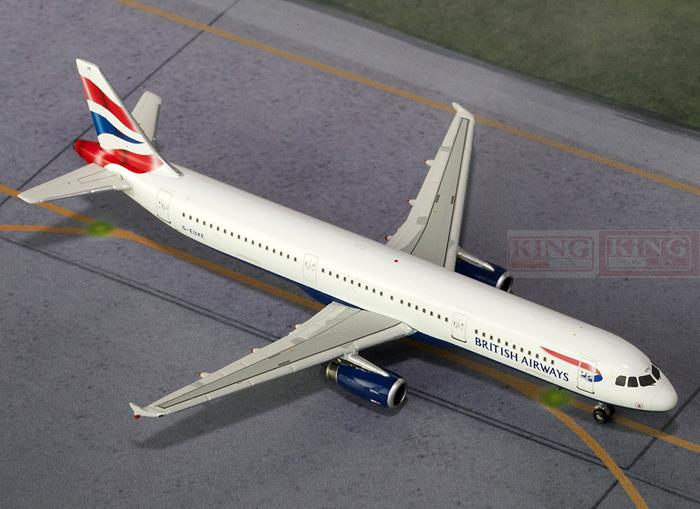 GJBAW1390 GeminiJets British Airways G-EUXE 1:400 A321 commercial jetliners plane model hobby phoenix 10848 british airways g gssf cargo 1 400 b747 8f commercial jetliners plane model hobby