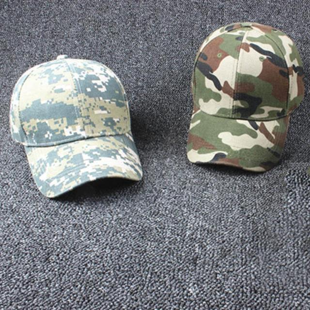cedb468721bba Men Women Adjustable Military Hunting Fishing Hat Army Baseball Head Cover  Wearing Outdoor Cap Popular Trend