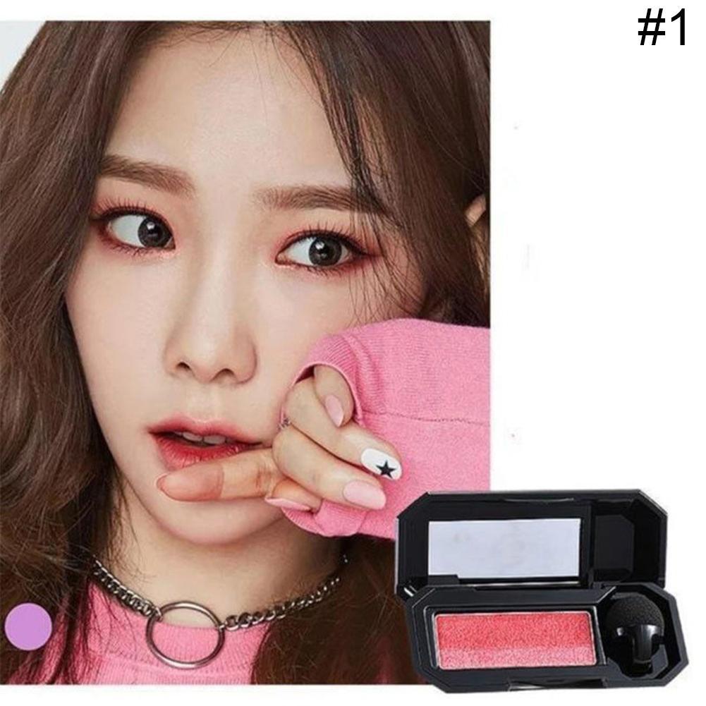 Long Lasting Double Color Glitter Eyeshadow Makeup Palette Women Beauty Cosmetic Eyes Makeup