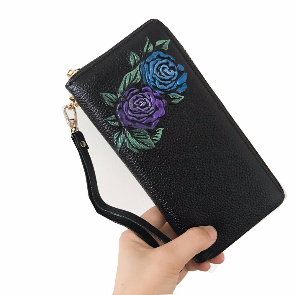 2016 brand Female clutch Genuine Leather Long Design Women Wallets coin purses holders dollar price wallet and purse carteras 2017 brand lovely leather long women wallet girls change clasp purse female money coin card holders lady clutch wallets carteras