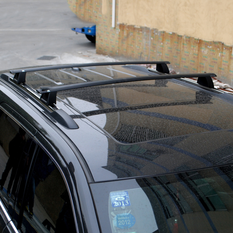 Car Styling Aluminum Alloy Roof Rack Luggage Kit Set Carrier Cross Bars For Jeep Grand Cherokee 2011 2012 2013 2014 2015 2016