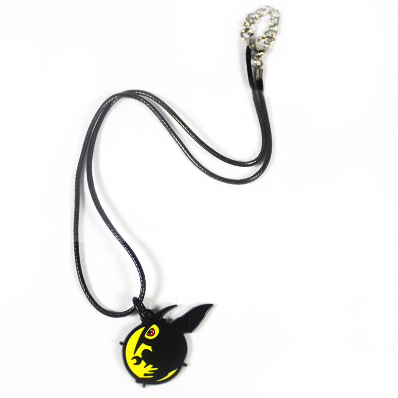 [PCMOS] 2017 New Akame ga Kill! Akame Night Raid Black Metal Pendant Necklace Chain Anime Cosplay Collection 16051206 sosw fashion anime theme death note cosplay notebook new school large writing journal 20 5cm 14 5cm