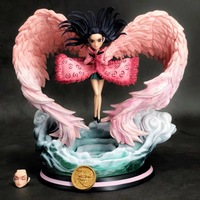 19CM Japanese anime figure one piece Q version Nico Robin statue action figure collectible model toys for boys