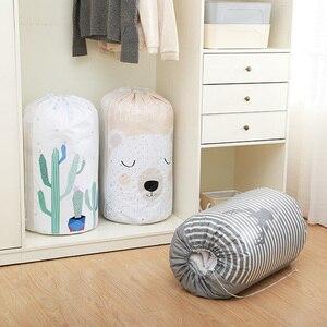 Image 5 - Beam ปากผ้านวมเก็บกระเป๋ากันน้ำเสื้อผ้า Quilt Sorting กระเป๋าสำหรับค่าเฉลี่ยเสื้อผ้ากระเป๋า