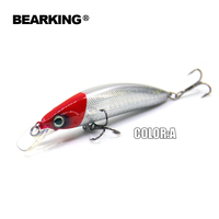 Retail 2015 Hot Selling5 Colors Minnow 80mm 13g Free Shipping