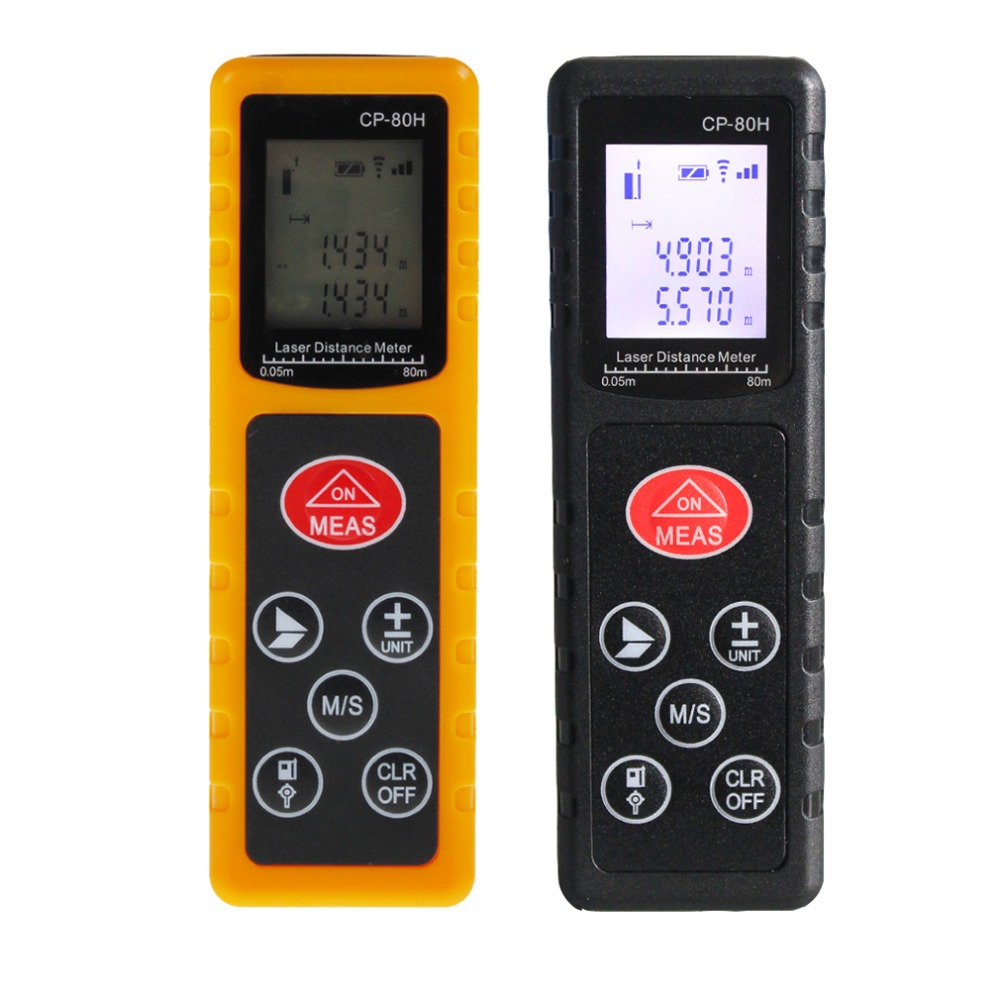 Mini 80M Handheld Digital Laser Distance Meter Range Finder Diastimeter Rangefinder Measure Test Tool For Construction Industry