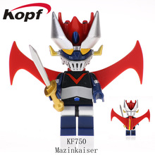Mazinger Z  Mini Man Toy  Building Block Bricks Compatible With Lego(China)