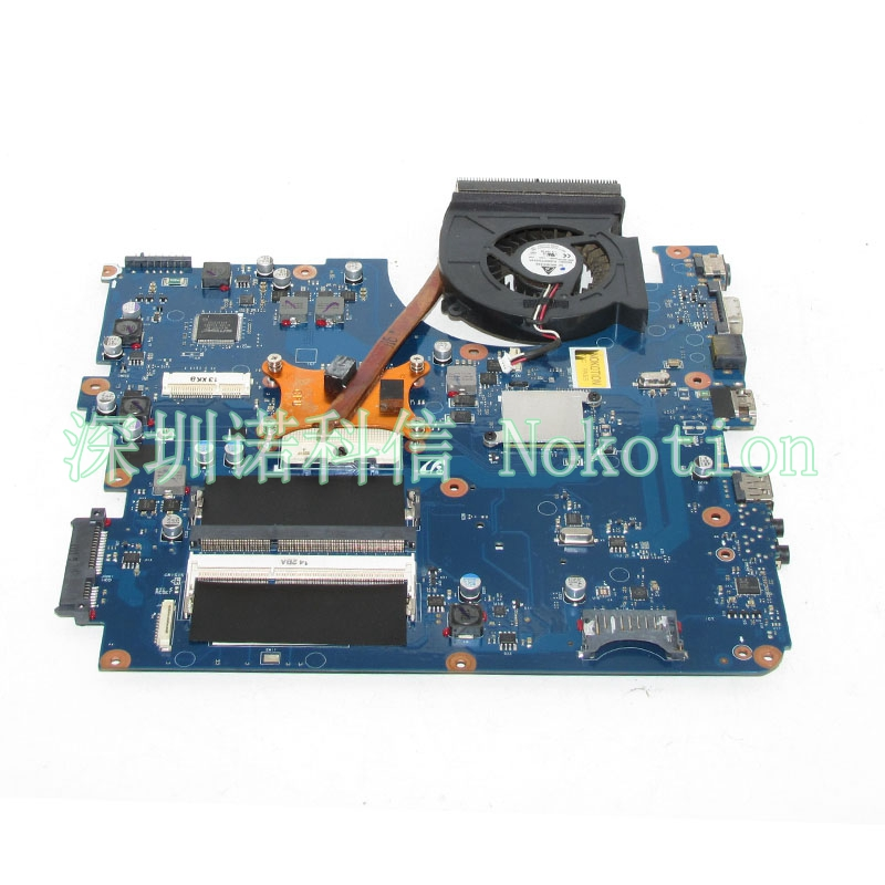 все цены на NOKOTION BA92-06785A BA41-01219A Laptop Motherboard for Samsung R540 NP-R540 Mainboard BREMEN-C HM55 DDR3 with Heatsink
