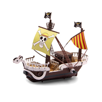 Home Decor Classics Anime One Piece Pirate Ship Sailing Metal Model Crafts Cool Style Handmade Toys Household Ornaments Gifts