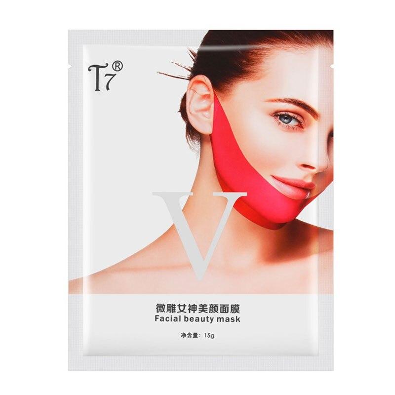 Women Face Lifting Mask Skin Care 3D Contour Lift Up Jaw & Cheek Slim Double Chin V-shape Facial Moisturizing Firming Mask