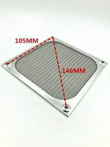Net-Guard DUST-FILTER Computer-Case Mesh 120mm 80mm Aluminum 9cm/12cm