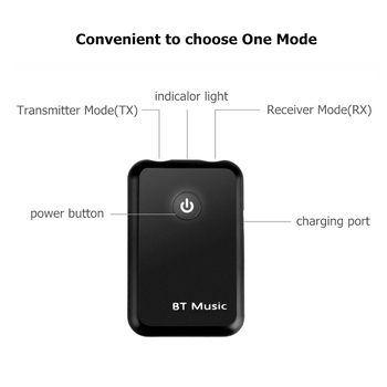 Wireless USB Bluetooth Adapter 4.2 Bluetooth Dongle Music Sound Receiver Adapter Bluetooth Transmit for Computer Car TV Speaker