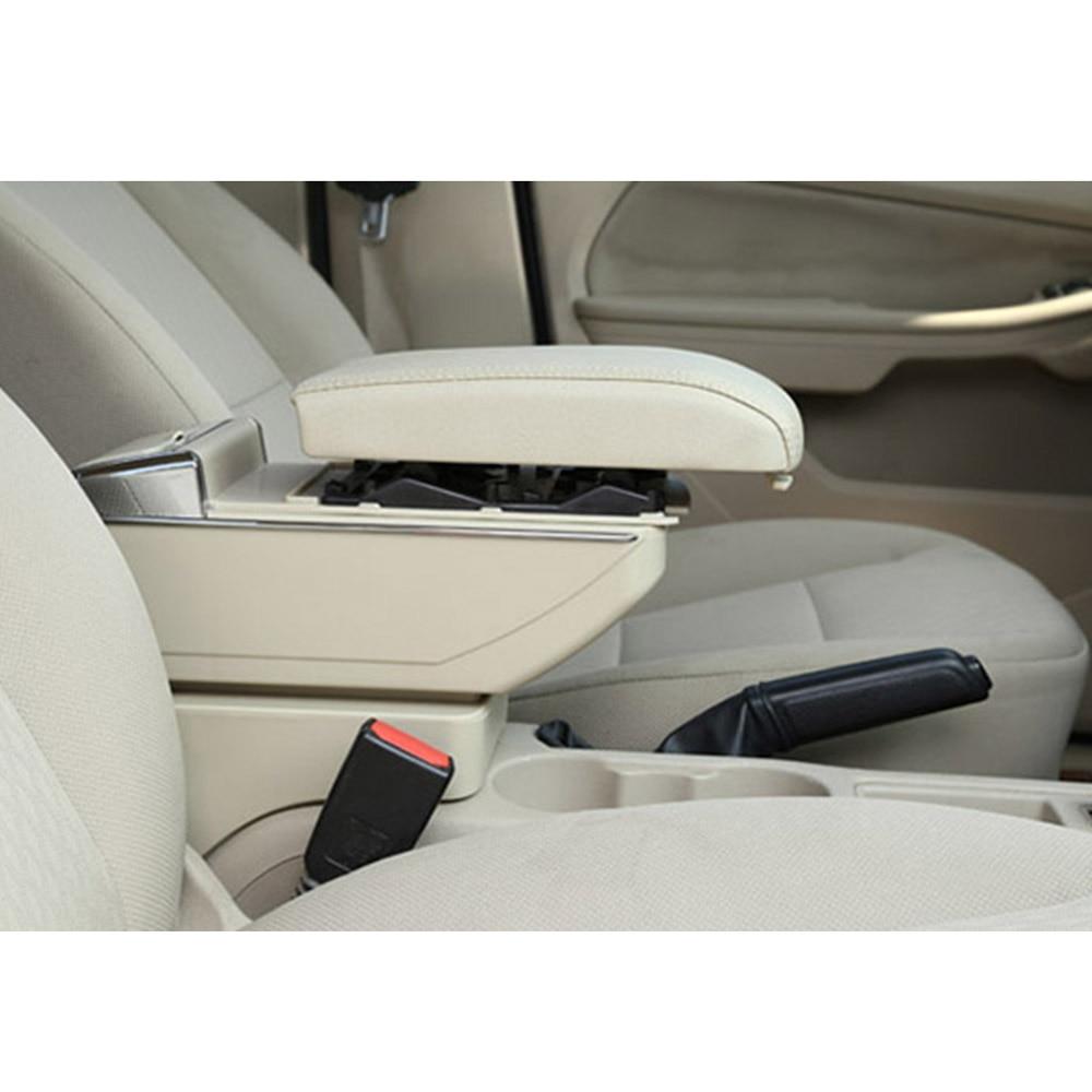 Подлокотник коробка для Honda CR-Z CRZ центральной консоли Arm хранить содержимое коробки обладатель Кубка пепельница с ростом и вниз Функция стайлинга автомобилей - Color Name: beige