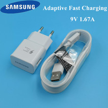 Original EU Samsung galaxy S7 Charger Mobile Phone TRAVEL adaptive Fast charge Charging for a8 a6 a5 j7 j5 j3 s6 Micro USB Cable цены