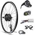 Переднее моторное колесо 36В 500 Вт Ebike комплект для переоборудования электрического велосипеда ЖК регенерация Электрический велосипед коле...