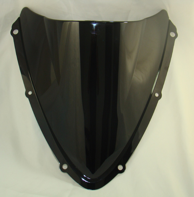 Motorcycle Double Bubble Windscreen Windshield Shield Screen For SUZUKI GSXR600 GSXR750 GSXR 600 750 2008 2009