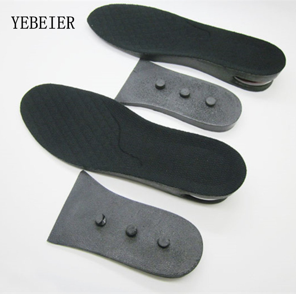 Hot Sale 1 Pair Height Increase Insole Men Women Height Increase Insoles Adjustable Sports Shoes Pad Cushion Inserts for Unisex expfoot orthotic arch support shoe pad orthopedic insoles pu insoles for shoes breathable foot pads massage sport insole 045