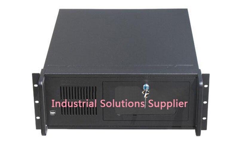 NEW 4U5008E 4u server computer case 8 hard drive 2 bit