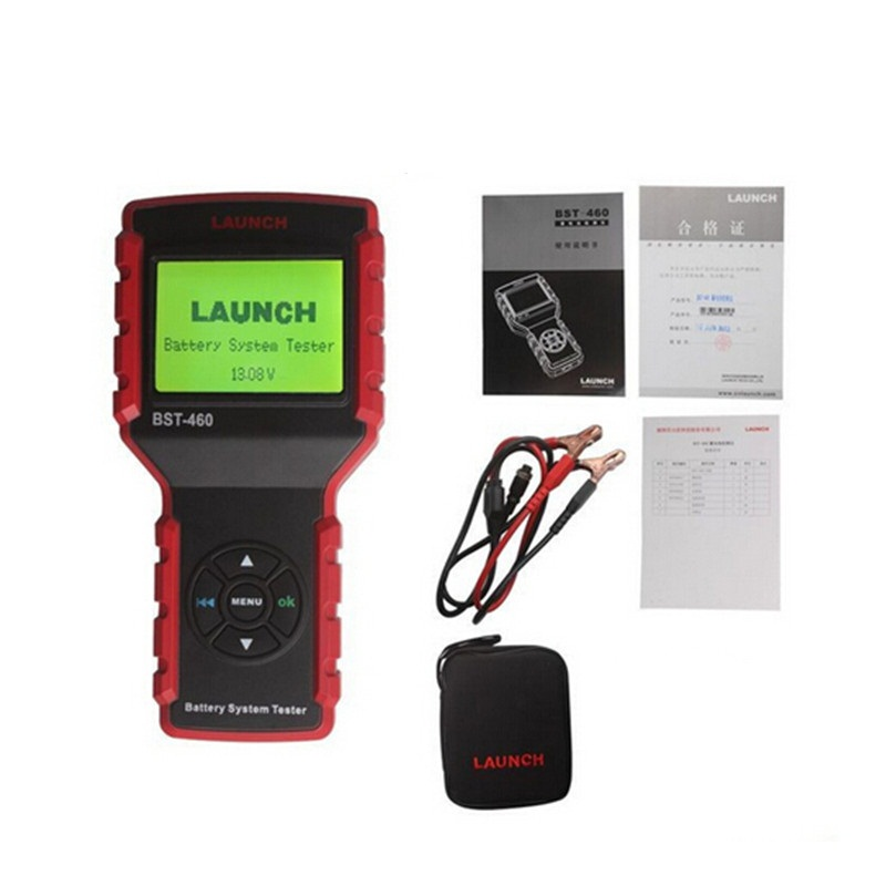 все цены на  Original Launch Battery Tester Analyzer BST 460 with multi-language version for 12V/24V BST-460 Battery System Tester  в интернете