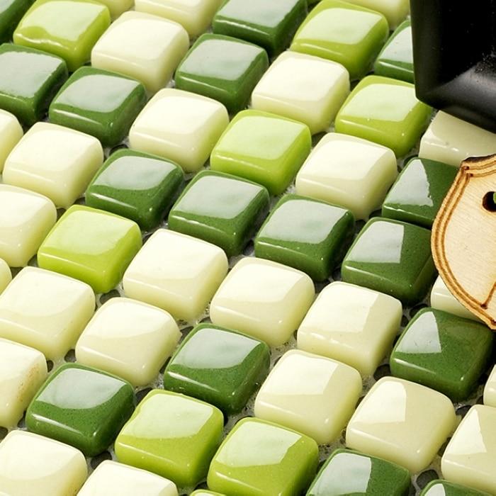 Square Full Body Ceramic Mosaic Tiles