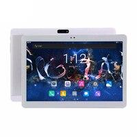 Android 7.0 10 polegada tablet pc 10.1 3G 4G Chamada de Telefone Núcleo octa 4 GB de RAM 64 GB ROM Dual SIM Card Slots 4g Comprimidos para as crianças presentes
