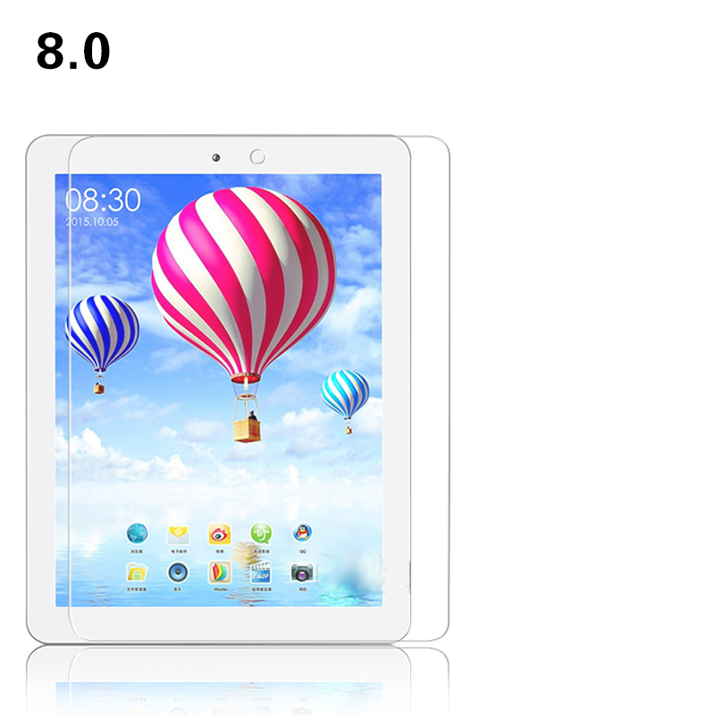 BEST Anti shatter Tempered Glass film for Teclast P88 8.0 inch Tablet PC front HD lcd Screen protector Protective films