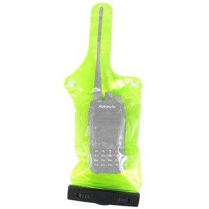 Image 3 - 10 шт. водонепроницаемый чехол для рации, чехол для радиостанции, кобура Csae для Baofeng Retevis Walkie talkie J6309G