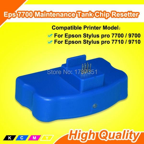 Maintenance Tank Chip Reset For Epson 9700 ink Resetter куклы