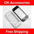 White Black Color For Nokia N97 mini Touch Screen Digitizer With Frame 10PCS/Lot Free Shipping